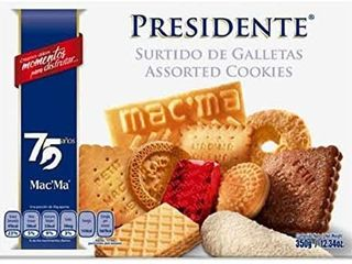 Mac ma Presidente  Assorted Mexican Cookies  Box of 12 34 oz