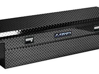 lund 7111002lP 60 Inch Economy line low Profile Aluminum Cross Bed Truck Tool Box  Diamond Plated  Black