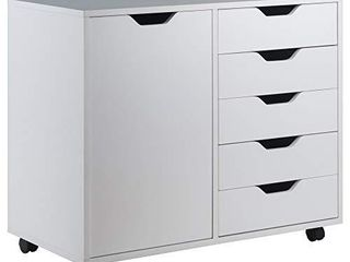 Winsome Wood Halifax Storage Organization  White