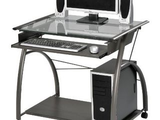 ACME Vincent Computer Desk   00118   Pewter