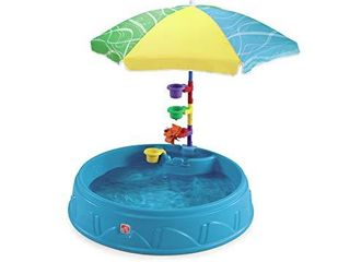 Step2 Play   Shade Pool for Toddlers   Plastic Kids Outdoor Pool  Multicolor