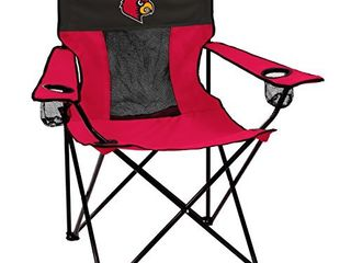 logo Brands Officially licensed NCAA Unisex Elite Chair  One Size louisville Cardinals