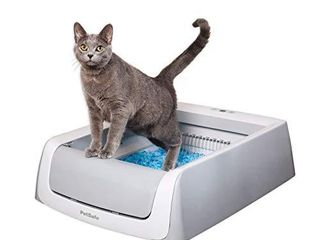 PetSafe ScoopFree Automatic Self Cleaning Cat litter Box  Includes Disposable Trays with Crystal litter