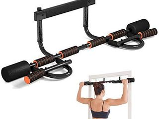 CEAYUN Pull up Bar for Doorway  Portable Pullup Chin up Bar Home  No Screws Multifunctional Dip bar Fitness  Door Exercise Equipment Body Gym System Trainer