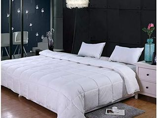 GrayEagle Bedding Co  All Season Down Alternative Comforter  Super King   120  x 98    116 oz Fill