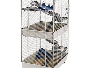 Ferplast Ferret Tower Two Story Ferret Cage   XXl  Ferret Cage Measures 29 5l x 31 5W x 63 4H   Inches
