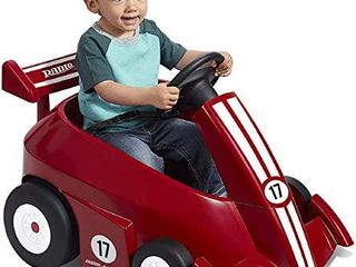 Radio Flyer Grow with Me Racer Children s Powered Ride Ons  Red
