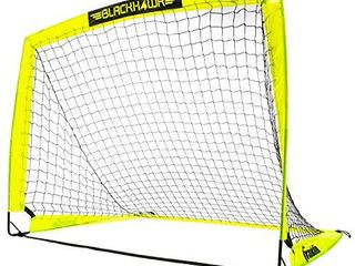 Franklin Sports Blackhawk Portable Soccer Goal   Pop Up Soccer Goal   Portable Soccer Net   4 x 3 Foot
