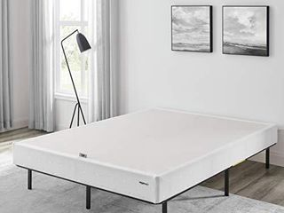 Amazon Basics Mattress Foundation   Smart Box Spring for King Size Bed  Tool Free Easy Assembly   5 Inch  King