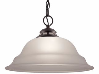 Brand Project Source Fallsbrook 15 in W Oil Rubbed Bronze Pendant light