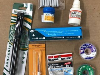 Soldering Parts Kit   9 piece Pack
