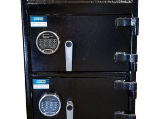 BlueDot Depository Front load Hopper Double Door Safe  30  X 20  X 20