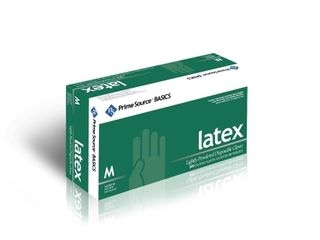 Case of Prime Source Basics White latex Glove