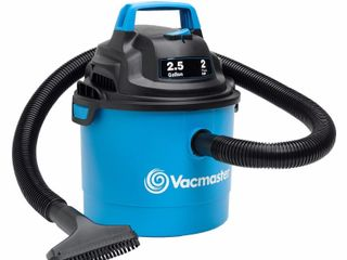 Vacmaster Portable Wall Mountable Wet Dry Vac  2 5 Gallon