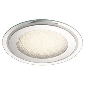 Kichler lighting 14 17 in W Chrome lED Ceiling Flush Mount light