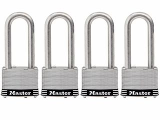 Master lock 4 348 in long Shackle Key Padlock