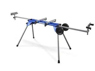 Kobalt Steel Adjustable Rolling Miter Saw Stand
