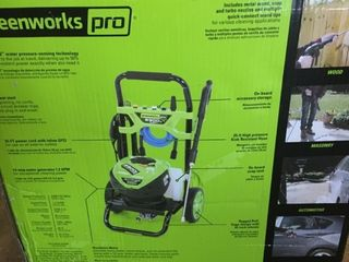Greenworks Pro Brushless Pressure Washer 2300psi