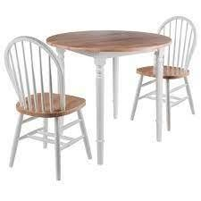 Porch   Den Ferruccio Chairs set of 2 natural and white finish