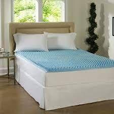 comforpedic loft from beautyrest dorm 4in textured gel topper memory foam mattress topper Twin  Retail 99 49