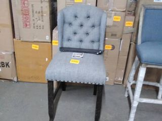 black fabric chair 1only as is