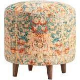 evolution be by crestview collection chole round stool multi colored