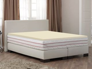 ONETAN 0 75 inch Standard Mattress Support Wooden Bunkie Board   Slats with Cover only Retail 87 49