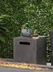 pismo outdoor aluminum firebox only grey