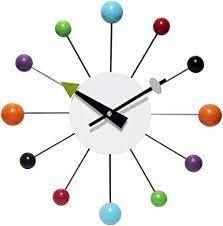 Infinity Instruments 15  Wall Clock with Metal Spokes