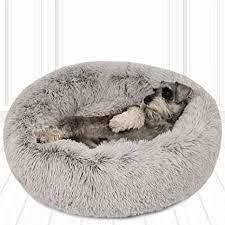 friends forever dog bed small gray
