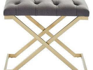 Rada Single Stainless Steel Velvet Bench  Retail 160 99