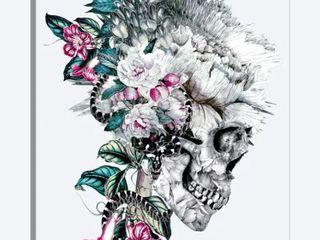iCanvas  Momento Mori VIII  Vy Riza Peker Canvas Print  Retail 155 99