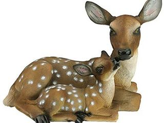 Design Toscano  Mothers love Doe and Fawn Garden Animal Statue  19 Inch  Polyresin  Full Color  Really Pretty