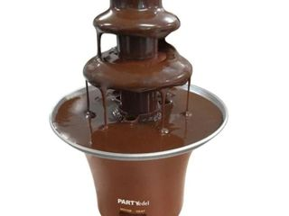 3 Tier Stainless Steel Chocolate Fountain