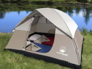 4 Person Tent Water Resistant Dome Tent