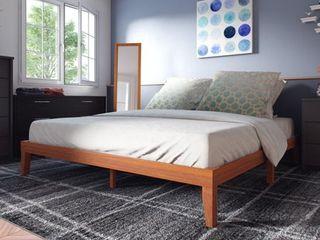 Porch   Den Neron 12 inch Wood King size Platform Bed  Retail 206 99