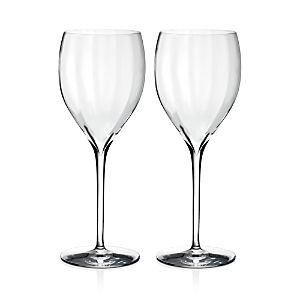Waterford Elegance Set Of 2 Fine Crystal Sauvignon Blanc Glasses  Size One Size   White  Very Pretty