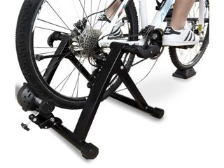 BalanceFrom Bike Trainer Magnetic Stand Steel Front Wheel Riser Block