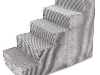 USA Made Pet Steps Stairs with CertiPUR US Certified Foam for Dogs  amp  Cats by Best Pet Supplies