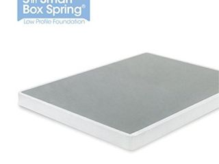 Zinus 5 Inch low Profile Smart Box Spring Mattress Foundation Strong Steel Structure Full