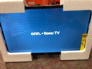 onn  24  Class 720P HD lED Roku Smart TV  100012590