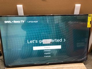 onn  43  Class 4K UHD lED Roku Smart TV HDR  100012584