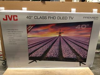 JVC 40  Class Premier Series 1080p lED TV   lT 40MAW300