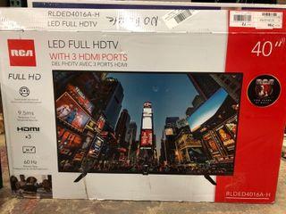 RCA 40  Class FHD  1080P  lED TV  RlDED4016A