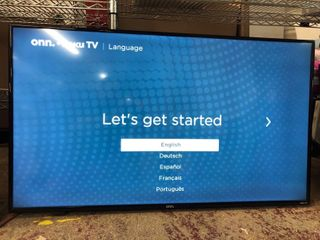 onn  50  Roku Smart 4K Television