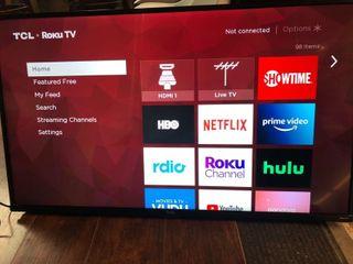TCl 43  Roku Smart TV