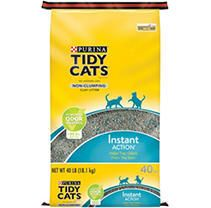 GOlDEN CAT COMPANY 702032 Tidy Cats Multiple Cat Immediate Odor Control Conv Tough Bag  40 Pound