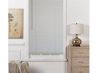 Mainstays Cordless 1  Vinyl light Filtering Blinds  Gray