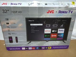 Jvc 32  Class Hd  720p  Roku Smart led Tv  lt 32maw205