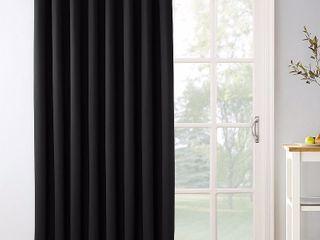Sun Zero Preston 100  x 84  Grommet Top Blackout Patio Curtain Panel